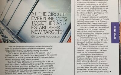 At the Circuit everyone gets together and establishes New Targets