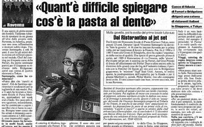 Quant'è difficile spiegare cos'è la pasta al dente – Ravenna Cronaca 12 Novembre 2008