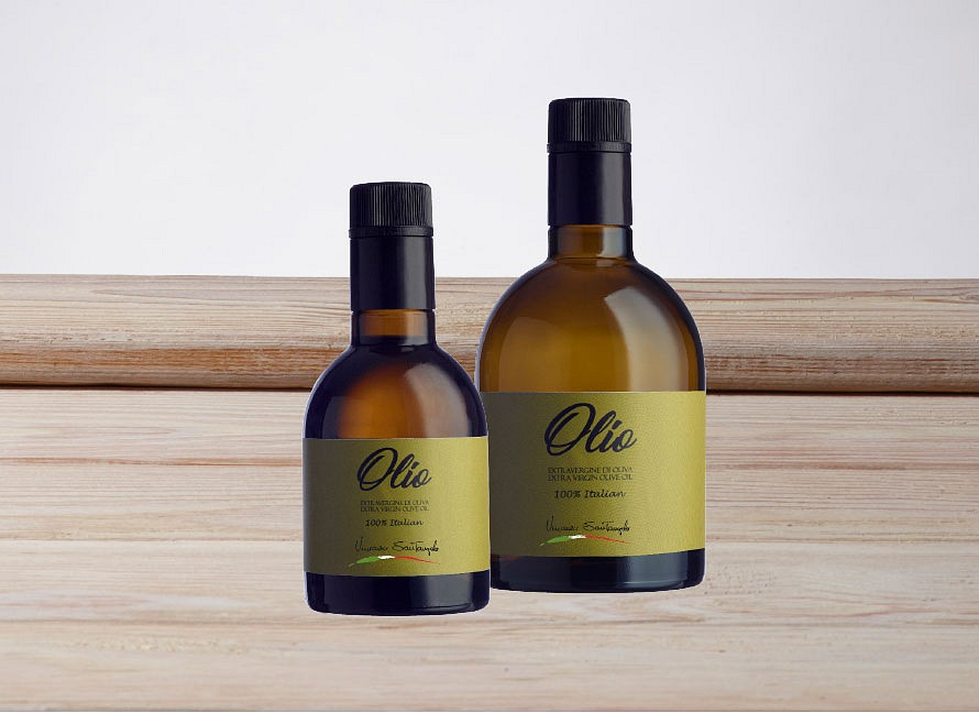 100% italian extra virgin olive oil