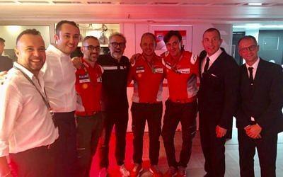 Collaboration with Michelin Star Chef in MOTO GP